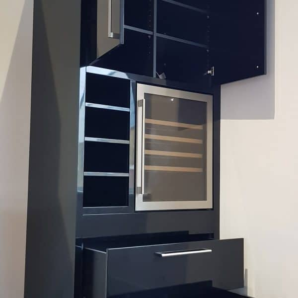 black-gloss-wine-cabinet-with-built-in-cooler-fridge